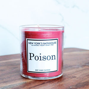 Poison Dupe Soy Wax Candle - New York's Bathhouse