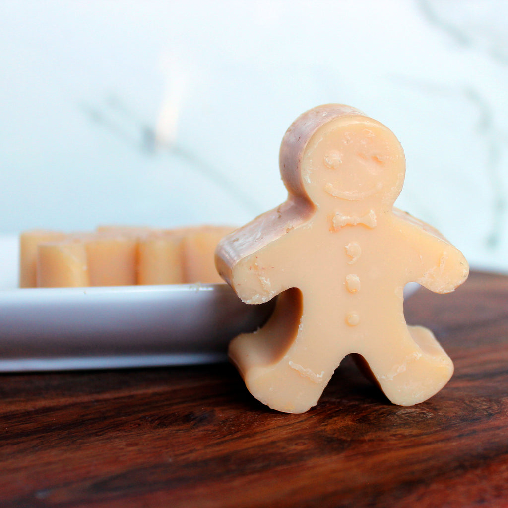 Gingerbread Man Cookies Fragrance Soap Bar - New York's Bathhouse