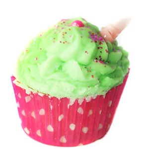 Watermelon Cocoa Cupcake bath melts - New York's Bathhouse