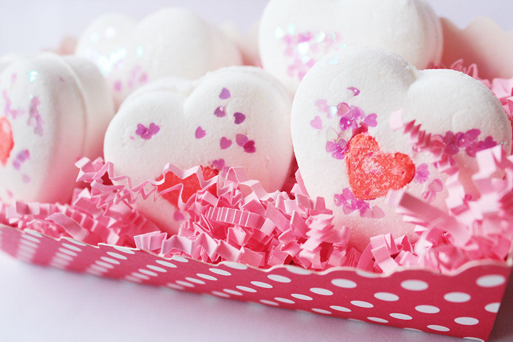 White Chocolate Truffles Bath Bombs