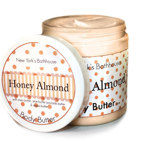 Honey Almond Body Butter - New York's Bathhouse