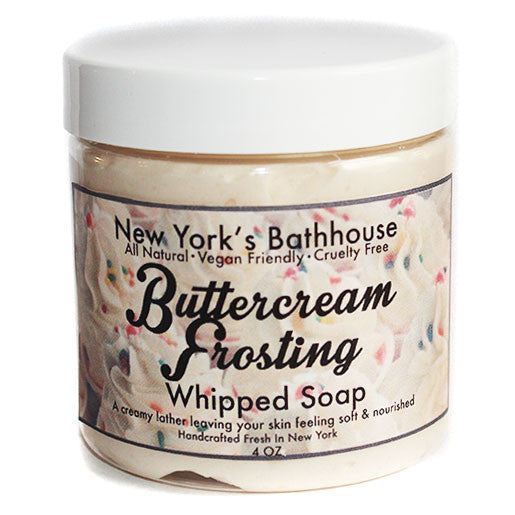 Buttercream Frosting Whipped Soap - New York's Bathhouse