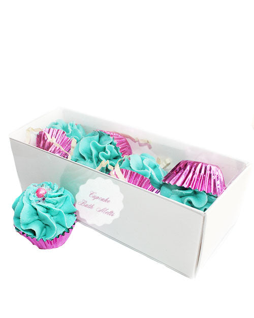Petite Fruit Punch Cupcake Bath Melts Gift Box - New York's Bathhouse