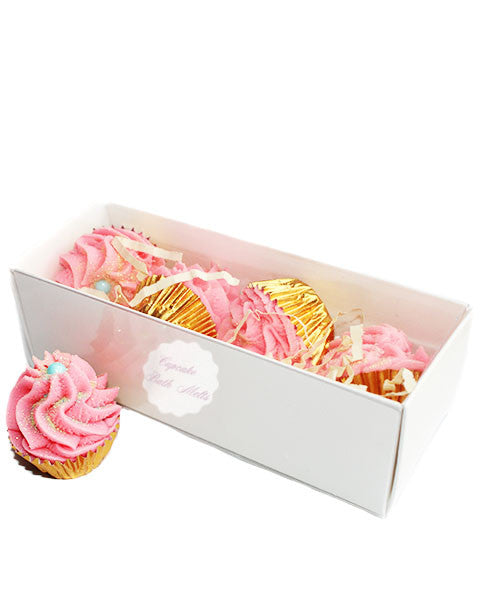 Petite Fruit Loops Cupcake Bath Melts Gift Box - New York's Bathhouse