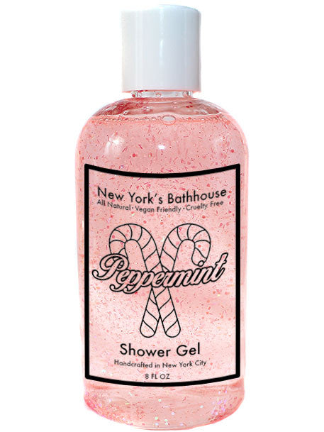 Peppermint Shower Gel - New York's Bathhouse