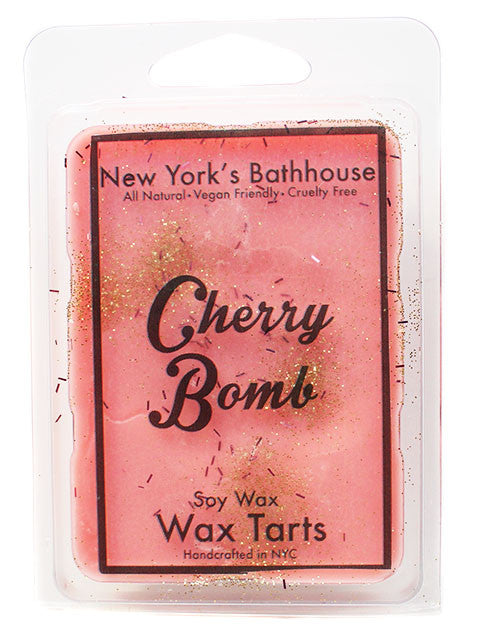 Cherry Bomb Soy Wax Tarts - New York's Bathhouse
