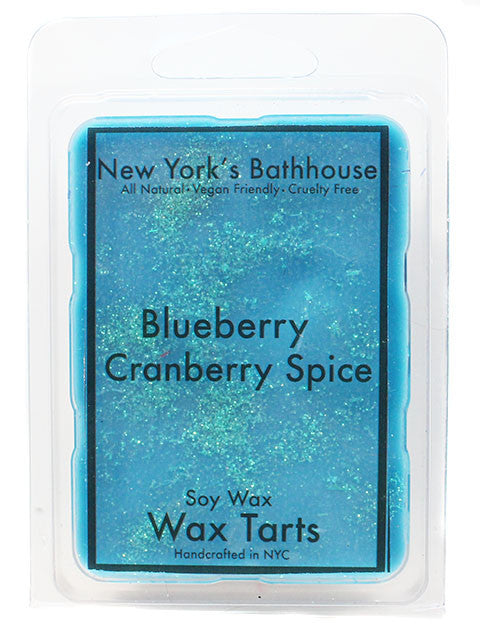 Blueberry Cranberry Spice Soy Wax Tarts - New York's Bathhouse