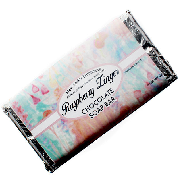 Raspberry Zinger Chocolate Soap - New York's Bathhouse