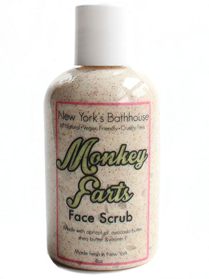 Monkey Farts Facial Scrub - New York's Bathhouse