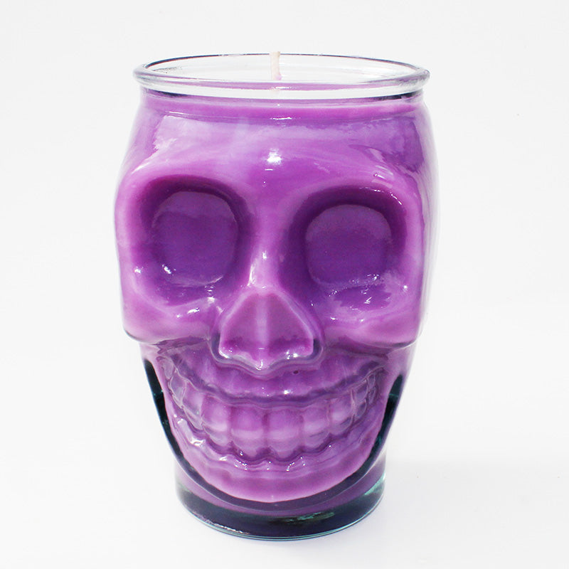 Come To The Dark Side Skull Candle- Limited Edition - New York's Bathhouse