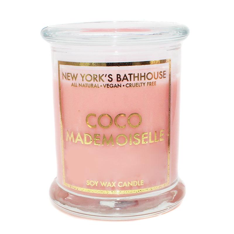 Mademoiselle Scented Soy Wax Candle New York S Bathhouse