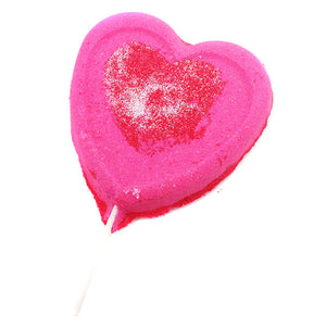 Sweetheart Lollipop Bath Bomb - New York's Bathhouse