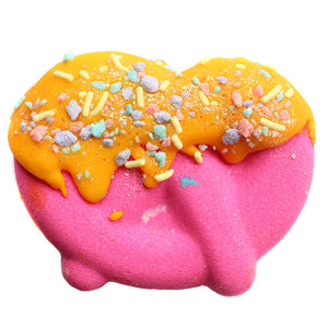 Cotton Candy Lemonade Dipped Pretzel Bath Bomb - New York's Bathhouse