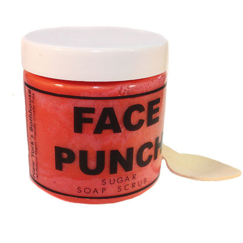 Face Punch Soap Sugar Scrub - New York's Bathhouse