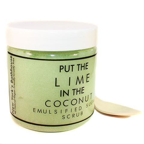 Put The Lime In The Coconut Emulsified Body Scrub - New York's Bathhouse