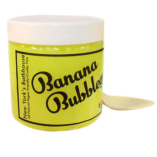 Banana & Bubblegum Sugar Body Scrub - New York's Bathhouse