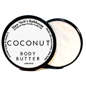 Coconut Body Butter - New York's Bathhouse