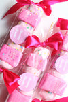 Strawberry Smoothie Marshmallow Pop Bubble Bars - New York's Bathhouse