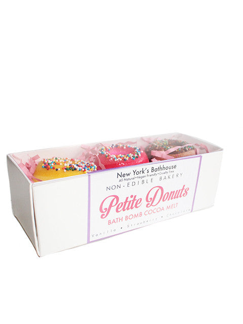 Assorted Petite Donut Bath Bombs - New York's Bathhouse