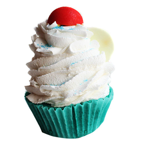 Pina Colada Cupcake Bath Bomb - New York's Bathhouse