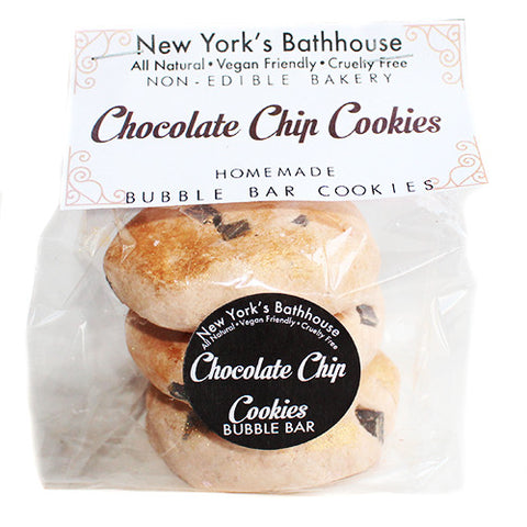 Chocolate Chip Cookies Bubble Bar - New York's Bathhouse
