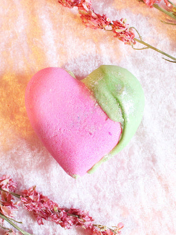 Love Sick Heart Bath Bomb