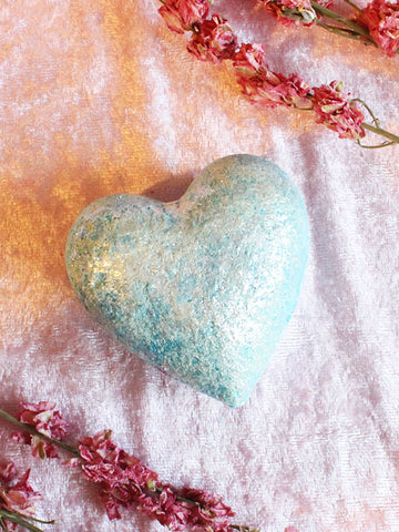 Ice Cold Heart Bath Bomb