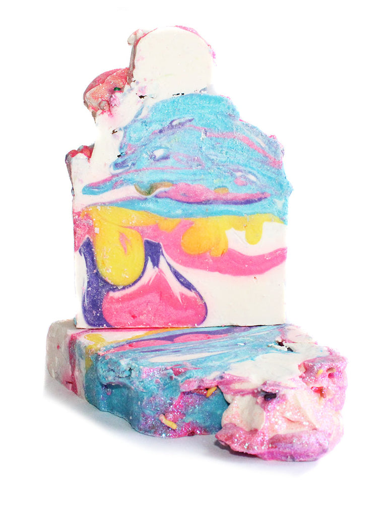 Ice Cream Cake Soap Bar