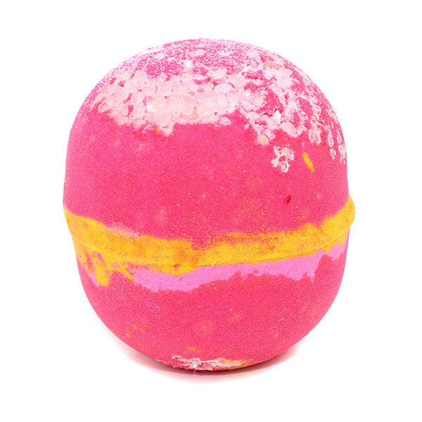 Raspberry Lemonade Sea salt  Bath Bomb - New York's Bathhouse