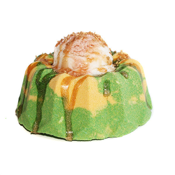 Caramel Apple Pie & Ice Cream Bath Bomb - New York's Bathhouse