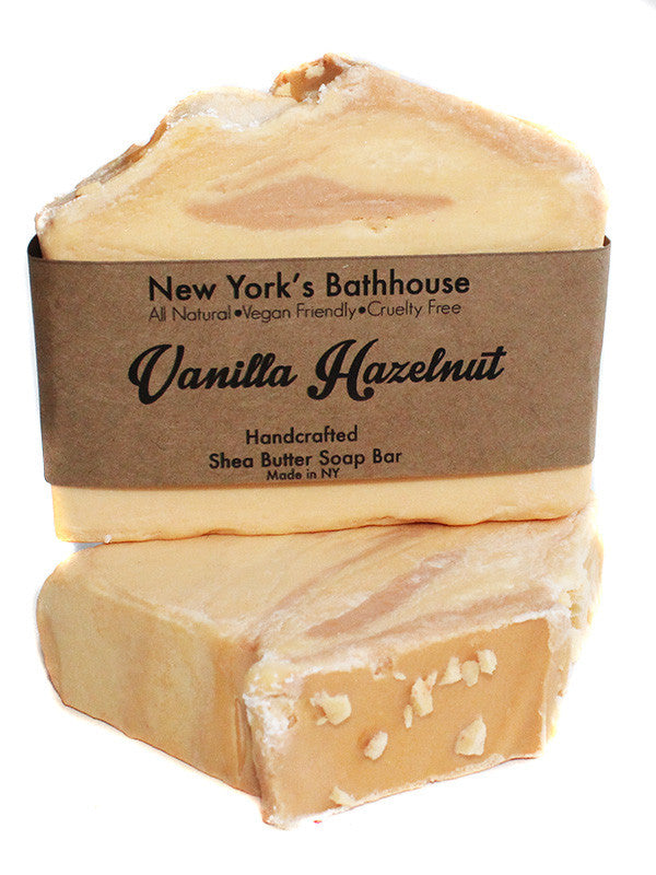 Vanilla Hazelnut Soap Bar- Seasonal - New York's Bathhouse