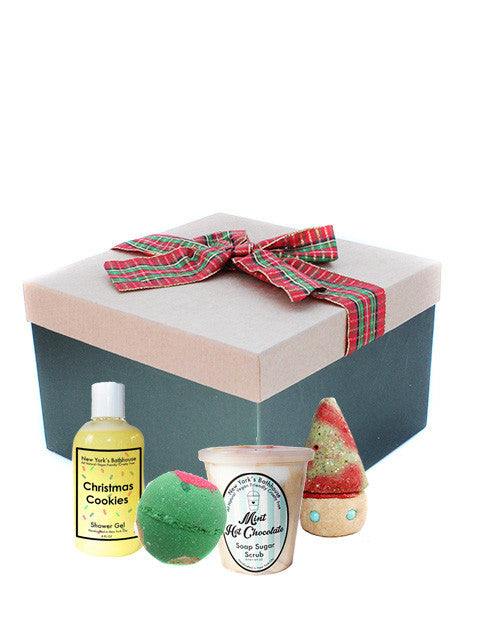 Christmas Goodies Seasonal Gift Box - New York's Bathhouse