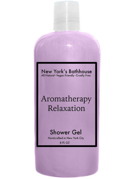 Aromatherapy Relaxation Shower Gel - New York's Bathhouse