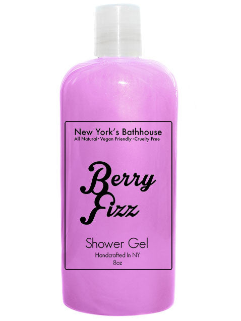 Berry Fizz Shower Gel - New York's Bathhouse