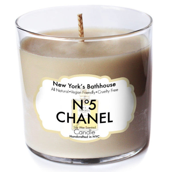 N0.5 Scented Soy Wax Candle - New York's Bathhouse