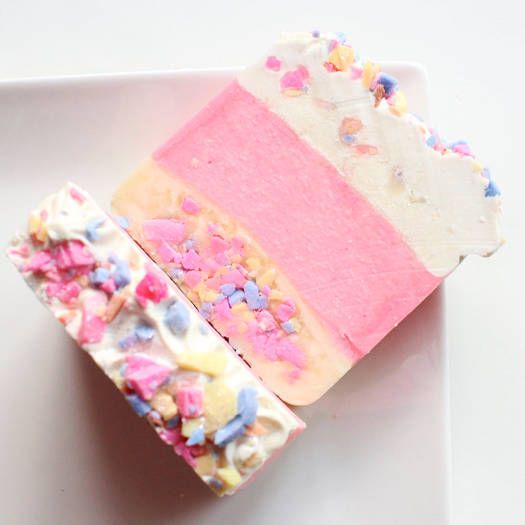 Confetti Cake Soap Bar - New York's Bathhouse