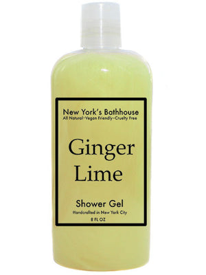 Ginger Lime Shower Gel - New York's Bathhouse
