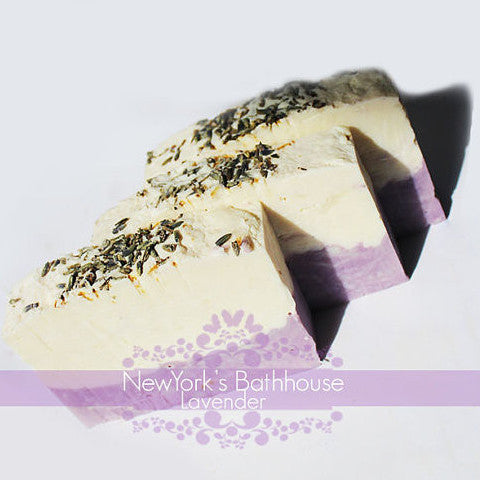 Lavender Soap Bar - New York's Bathhouse