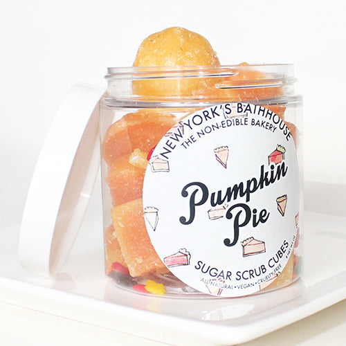 Pumpkin Pie Sugar Cubes - New York's Bathhouse