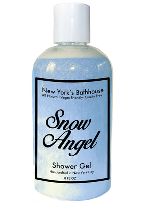 Snow Angel Shower Gel - New York's Bathhouse