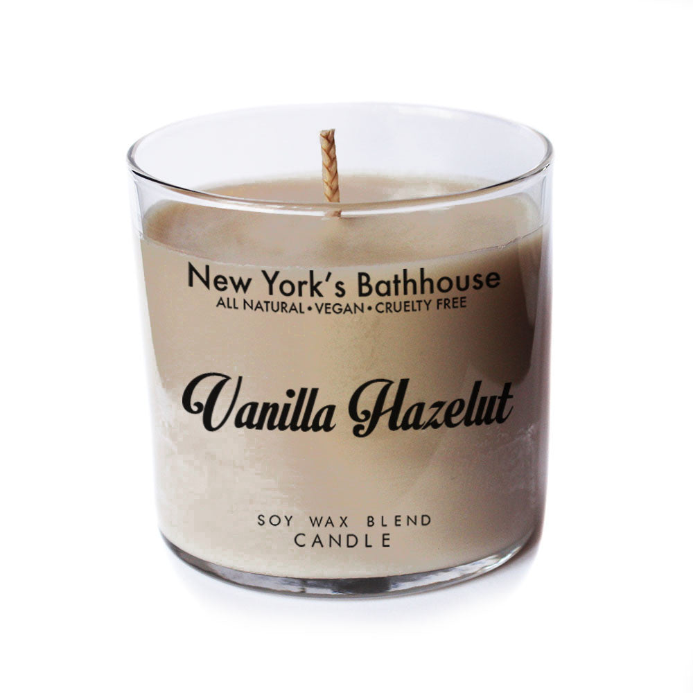 Vanilla Hazelnut Candle - New York's Bathhouse
