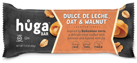 Dulce de Leche, Oat & Walnut - Box of 12 bars