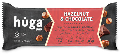 Hazelnut & Chocolate - Box of 12 bars