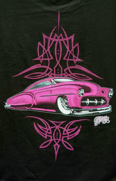 Pink Chevy Custom T