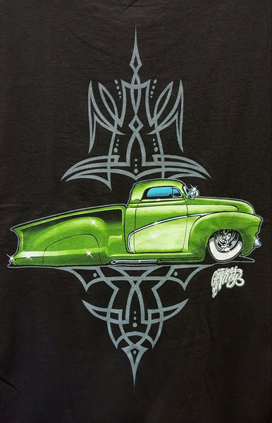 Green Chevy Custom Truck T