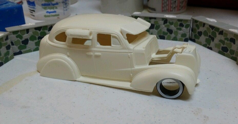 Image result for blvd resin '37 chevy 4 door