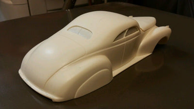 Resin 1941 Lincoln Zephyr chopped 2 dr custom