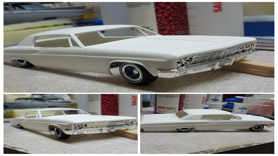 Resin cast 66 Caprice body.