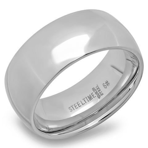 Steeltime Stainless Steel Wedding Band Ring