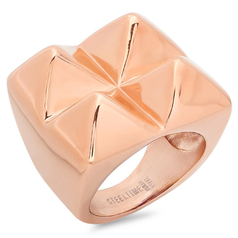 18k Rose Gold Plated Ring